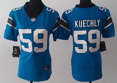 newest collection 05018 ba1ee Nike Carolina Panthers #34 DeAngelo Williams Light Blue Game ...