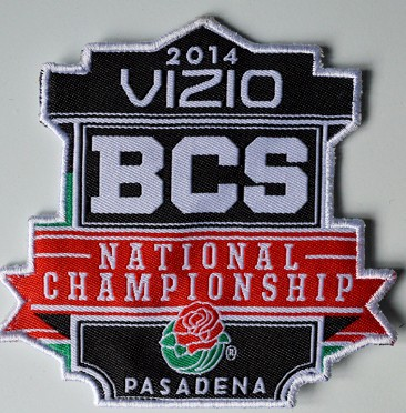 2014 BCS National Championship Patch