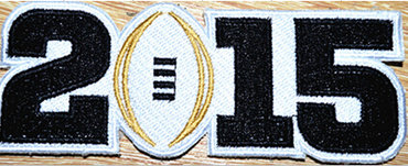 2015 Oregon Duck BCS National Championship Patch