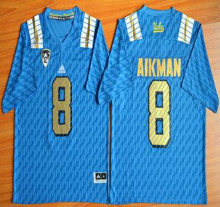 UCLA Bruins #8 Troy Aikman Blue 2015 College Football Jersey