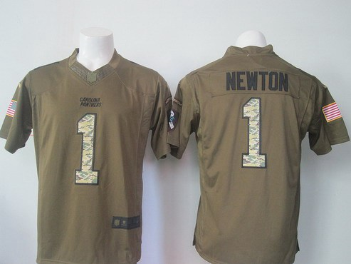 reputable site 0bba1 54b45 salute to service cam newton jersey