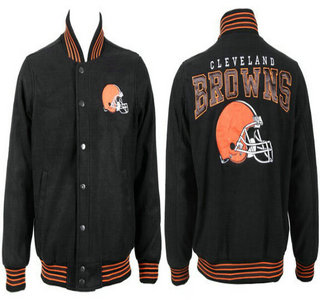 Cleveland Browns Black Jacket FG