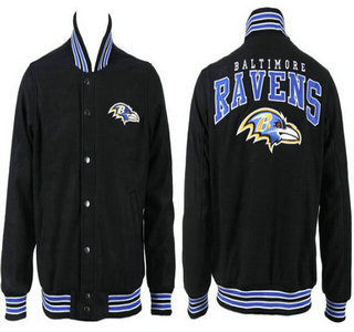 Baltimore Ravens Black Jacket FG