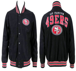 San Francisco 49ers Black Jacket FG