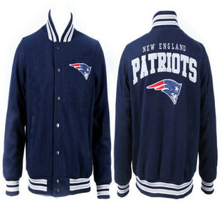 New England Patriots Navy Jacket FG
