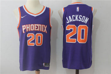 Men's Phoenix Suns #20 Josh Jackson New Purple 2017-2018 Nike Swingman Stitched NBA Jersey