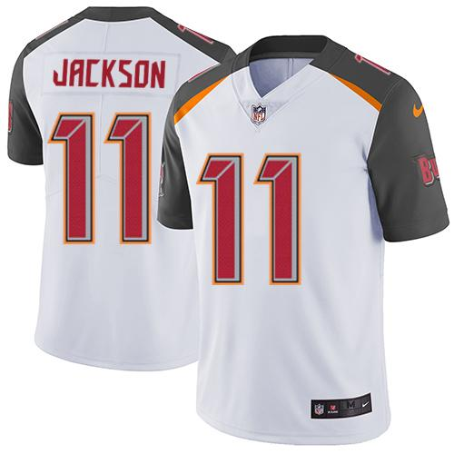 Youth Nike Tampa Buccaneers #11 DeSean Jackson White Stitched NFL Vapor Untouchable Limited Jersey