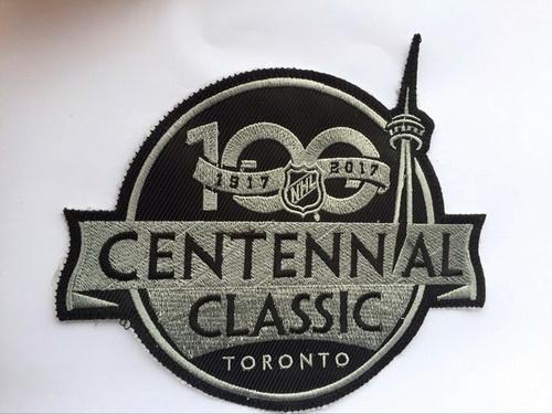 2017 NHL Centennial Classic 100TH Anniversary Patch