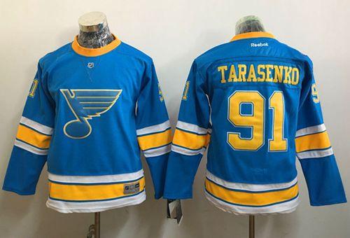 Blues #91 Vladimir Tarasenko Light Blue 2017 Winter Classic Stitched Youth NHL Jersey