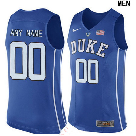Women's Duke Blue Devils Custom Nike Performance Elite College Basketball Jersey - Royal Blue