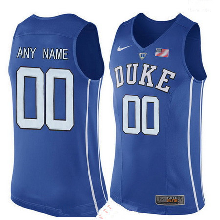 Youth Duke Blue Devils Custom Nike Performance Elite College Basketball Jersey - Royal Blue