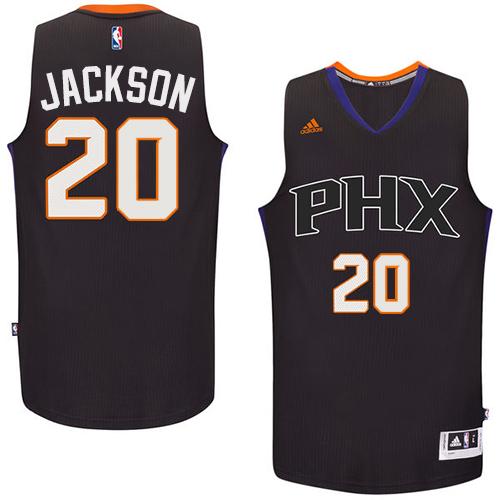 Phoenix Suns #20 Josh Jackson Black Alternate Stitched NBA Jersey