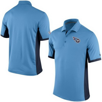 Men's Tennessee Titans Nike Light Blue Team Issue Performance Polo
