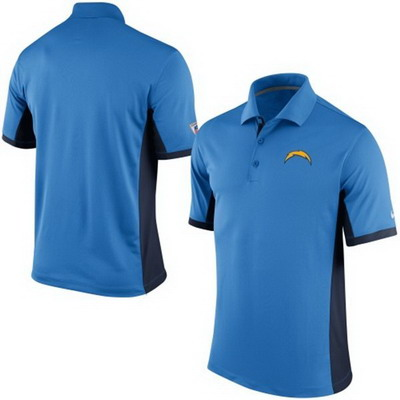 Men's Los Angeles Chargers Nike Powder Blue Team Issue Performance Polo