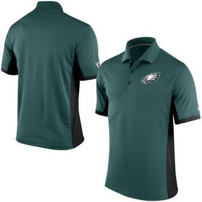 Men's Philadelphia Eagles Nike Green Team Issue Performance Polo