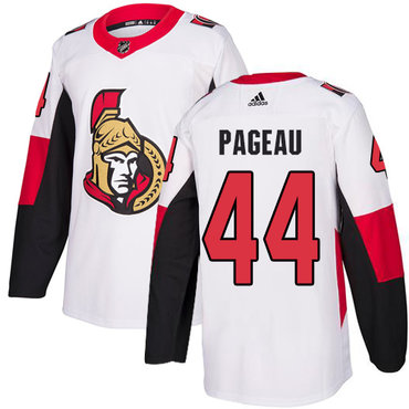 Adidas Men's Ottawa Senators #44 Jean-Gabriel Pageau Authentic White Away NHL Jersey