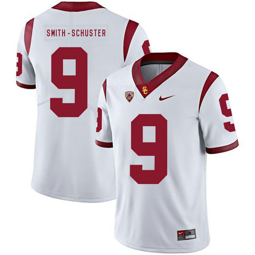 USC Trojans 9 JuJu Smith-Schuster White College Football Jersey