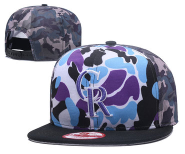 MLB Colorado Rockies Snapback