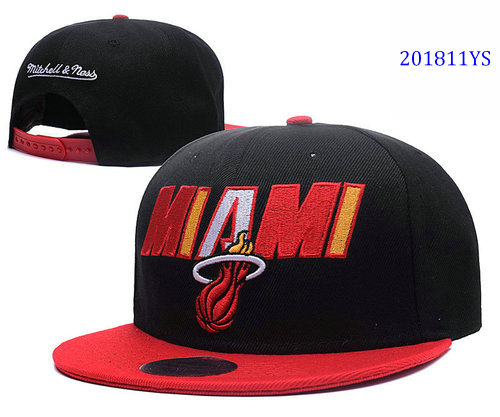 Miami Heat YS hats 71b