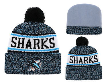NHL SAN JOSE SHARKS Beanies 1