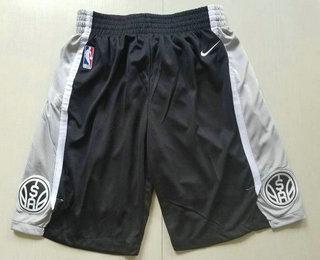 Nike San Antonio Spurs Black Swingman Shorts