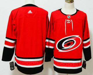 Men's Carolina Hurricanes Blank Red 2017-2018 Hockey Stitched NHL Jersey