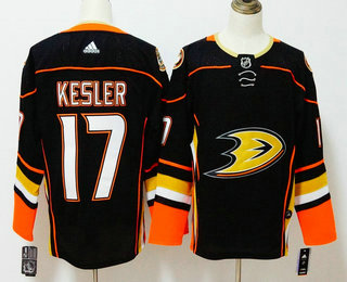 Men's Anaheim Ducks #17 Ryan Kesler Black 2017-2018 Hockey Stitched NHL Jersey