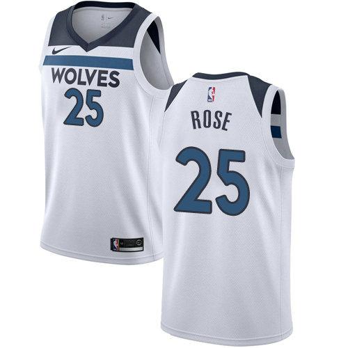 Nike Timberwolves 25 Derrick White Swimgman Jersey