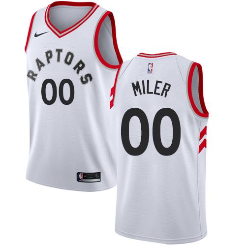 Youth Customized Toronto Raptors Authentic White Nike NBA Association Edition Jersey