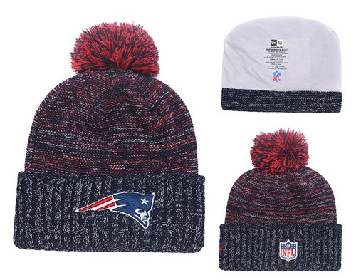 NFL New England Patriots Logo Stitched Knit Beanies 016