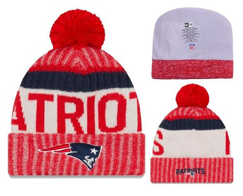 NFL New England Patriots Logo Stitched Knit Beanies 018