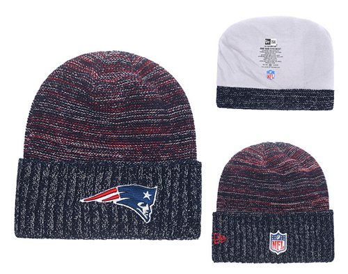 NFL New England Patriots Logo Stitched Knit Beanies 017