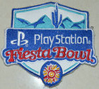 2017 NCAA College Football Play Station Fiesta Bowl Patch