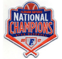 Florida Gators 2017 Men's Baseball National Champions Patch