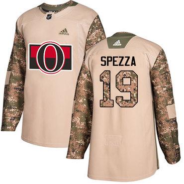 Adidas Senators #19 Jason Spezza Camo Authentic 2017 Veterans Day Stitched NHL Jersey