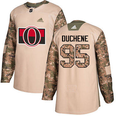Adidas Senators #95 Matt Duchene Camo Authentic 2017 Veterans Day Stitched NHL Jersey