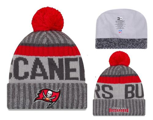 NFL Tampa Bay Buccaneers Logo Stitched Knit Beanies 007