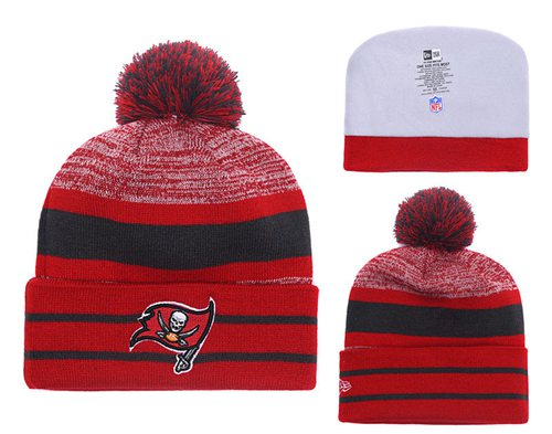 NFL Tampa Bay Buccaneers Logo Stitched Knit Beanies 010
