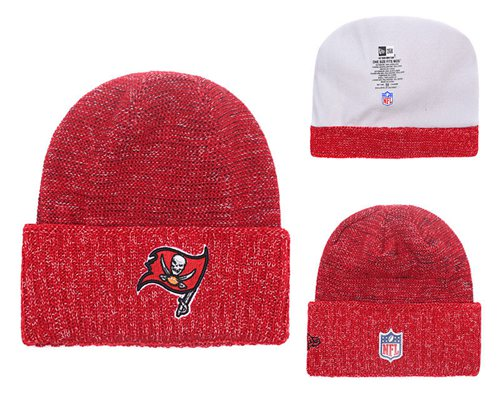 NFL Tampa Bay Buccaneers Logo Stitched Knit Beanies 009