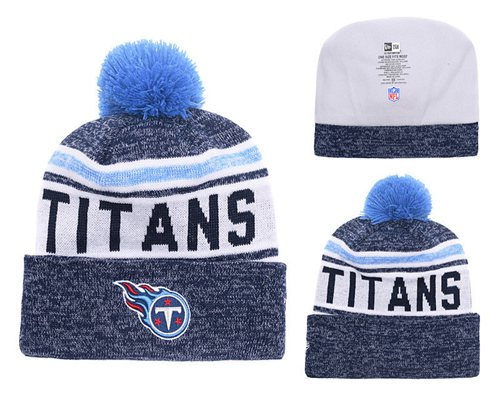 NFL Tennessee Titans Logo Stitched Knit Beanies 011