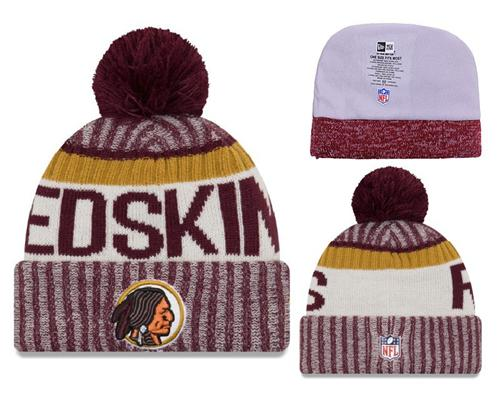 NFL Washington Redskins Logo Stitched Knit Beanies 001
