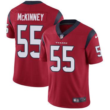 Nike Texans #55 Benardrick McKinney Red Alternate Men's Stitched NFL Vapor Untouchable Limited Jersey
