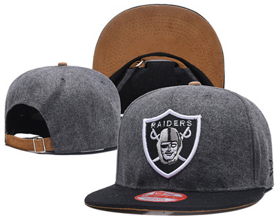 NFL Oakland Raiders Team Logo Snapback Adjustable Hat