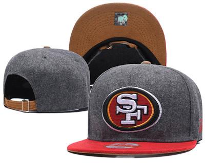 NFL San Francisco 49ers Fresh Logo Adjustable Hat