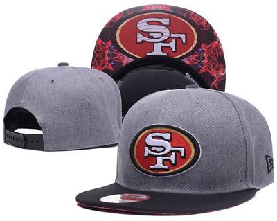 NFL San Francisco 49ers Fresh Logo Adjustable Hat 11