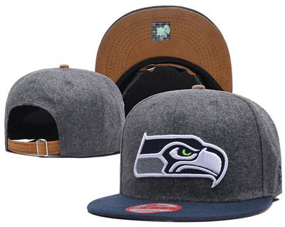 NFL Seahawks Seahawks Team Logo Adjustable Hat