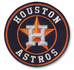 Houston Astros Road MLB Patch (No Shipping Charge)
