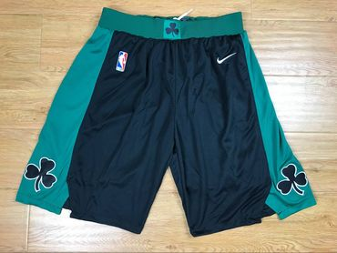 Boston Celtics Black Nike Authentic Shorts