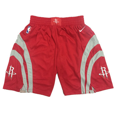 Houston Rockets Red Nike NBA Shorts