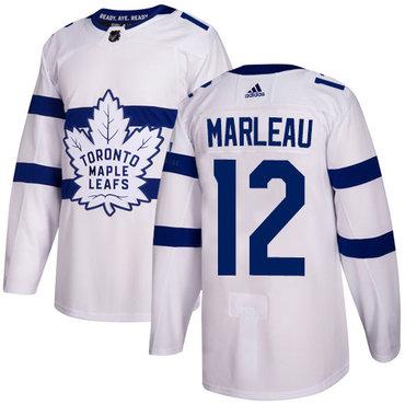Adidas Toronto Maple Leafs #12 Patrick Marleau White Authentic 2018 Stadium Series Stitched NHL Jersey